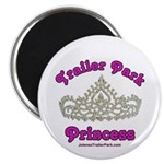 Trailer Park Princess Lace Magnet