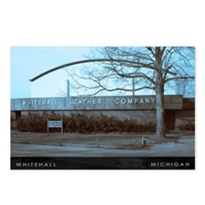 Whitehall,Michigan Winter 4x6 postcard