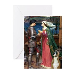 Knight & Boxer Greeting Cards (Pk of 20)