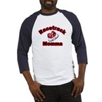 RaceTrack Momma Baseball Jersey