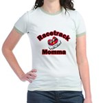 RaceTrack Momma Jr. Ringer T-shirt