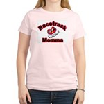 RaceTrack Momma Women's Pink T-Shirt