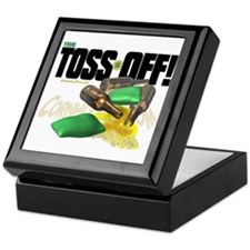 Toss Off! Keepsake Box