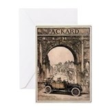 Packard Ad 2 Greeting Card