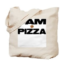 I AM PIZZA Tote Bag