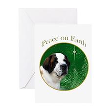 Saint Peace Greeting Card