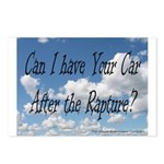 Rapture Wear! Car Postcards (Package of 8)