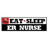 E.R. Nurse Bumper Sticker