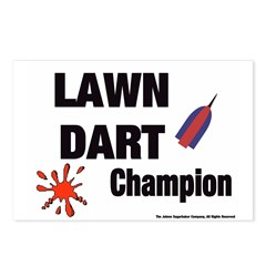 Lawn Dart Champion Postcards (Package of 8)