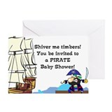 Pirate Baby Shower Invitation