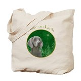 Weimaraner Peace Tote Bag