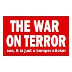 The War on Terror Bumper Sticker