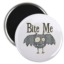 Bite Me Bat Design Magnet