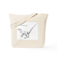 """""""Clever Girl"""" raptor Tote Bag"""