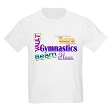 Gymnastics Kids T-Shirt