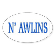 N'Awlins Stuff Oval Decal