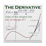 The Derivative Tile Coaster