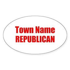 Republican Decal