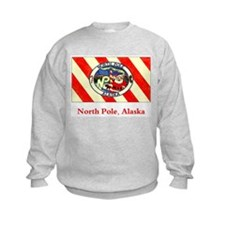 North Pole AK Flag Sweatshirt
