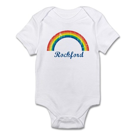 Rockford (vintage rainbow) Infant Bodysuit
