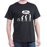 Evolution is following me Tee-Shirt