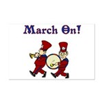 March On Mini Poster Print