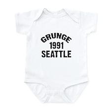 SEATTLE 1991 GRUNGE Onesie