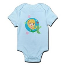 Blonde Mermaid Infant Bodysuit