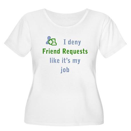 Women's Plus Friend Deny
