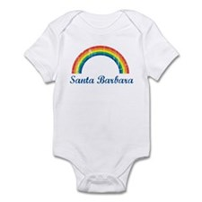 Santa Barbara (vintage rainbo Infant Bodysuit
