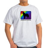 Norwegian Elkhound (rainbow) T-Shirt