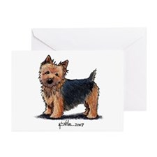Black Jacket NT Greeting Cards (Pk of 10)