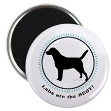 """Labs Are Best 2.25"""" Magnet (100 pack)"""