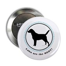 "Labs Are Best 2.25"" Button (100 pack)"