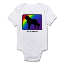 St Bernard (rainbow) Infant Bodysuit