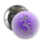 "Om Symbol 2.25"" Button (100 pack)"