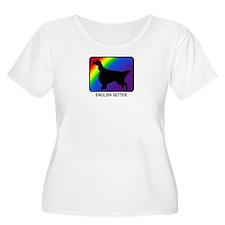 English Setter (rainbow) T-Shirt