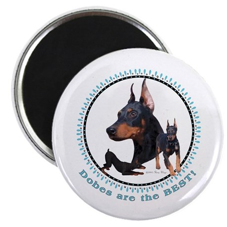 "Dobes Are Best 2.25"" Magnet (10 pack)"