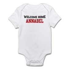 Welcome home ANNABEL Infant Bodysuit