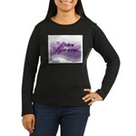 Follow Your Dreams Women's Long Sleeve Dark T-Shir