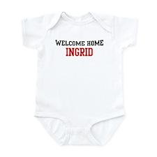 Welcome home INGRID Infant Bodysuit