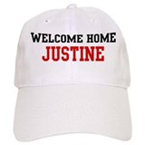 Welcome home JUSTINE Baseball Cap
