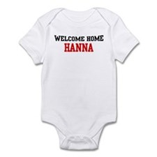 Welcome home HANNA Infant Bodysuit