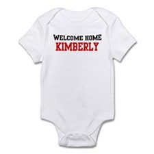 Welcome home KIMBERLY Infant Bodysuit