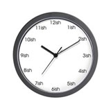 Ish Wall Clock