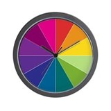 Spectrum Color Wall Clock