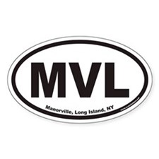 Manorville MVL Euro Oval Decal