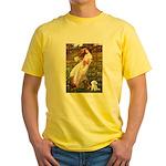 Windflowers / Maltese Yellow T-Shirt