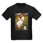 Windflowers / Maltese Kids Dark T-Shirt