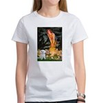 Fairies & Maltese Women's T-Shirt